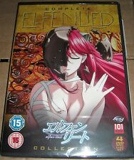 Elfenlied The Complete Collection | 4-Disc DVD Box | Deutsch & Englisch NEU OVP