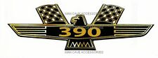 Vintage Ford Thunderbird 390 Vinyl Decal Sticker
