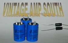 New F&T Electrolytic Capacitor Set for Marshall JCM800 2204 & 4104 50 Watt Amps