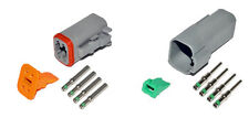 Deutsch DT 4 Pin Connector Kit 14 GA Solid Contacts