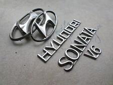 03-05 Hyundai Sonata V6 Logo 86341-3D000 Emblem 86311-3D000 Decorative Decal Set