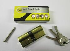 Yale Brass Security Euro Cylinder Lock Anti Snap Bump Drill Pick 35/35 70mm