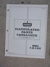 1972  Pioneer Chain Saw Model 11-30 11-30GT  Illustrated Parts Catalog Tool  B
