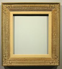 Custom carved wood painting picture frame fits 13 x 14.5  inches
