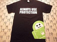 Small- NWOT Anti Virus Always Use Protection T- Shirt