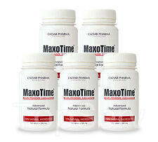 5 MaxoTime Stay Hard CLIMAX CONTROL ORGASM Premature Ejaculation #1 PILLS !