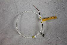 "RTD sensor, 1/4-20 thread, 2 wire, 1000ohm 40"" teflon leads with resistor"
