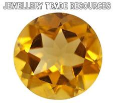 4.5mm ROUND NATURAL GOLDEN YELLOW CITRINE GEM GEMSTONE