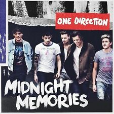ONE DIRECTION - MIDNIGHT MEMORIES - CD ALBUM (2013) - NEW!