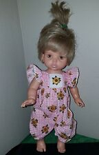 ADORABLE Baby So Beautiful Doll~Playmates Toys 1995 w/Tagged Outfit~HAZEL Eyes!