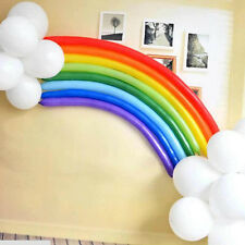 Rainbow Sets Colorful Magical Long Animal Twist Latex Balloon Kid Party Decorate