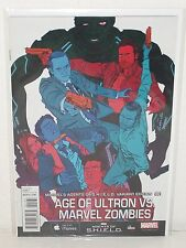 AGE of ULTRON vs MARVEL ZOMBIES #1 - Agents of SHIELD Variant - SECRET WARS -mcu