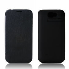 4800mAh Power Pack Battery Case w/ Flip Cover for Samsung Galaxy NoteII N7100