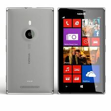 Nokia Lumia 925 Windows 8 Gris Desbloqueado Teléfono inteligente 4G LTE 8.7MP 16GB-Grado A