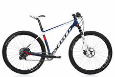 "2015 Scott Scale 910 Mountain Bike LARGE 29"" Carbon SRAM GX XT RockShox Sid WC"