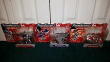 Energon Starscream + Kirker & High Wire + Hot Spot Transformers Deluxe Hasbro