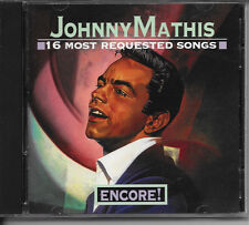 CD JOHNNY MATHIS ENCORE:16 MOST REQUESTED VG++