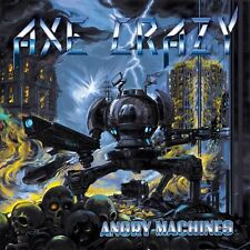 AXE CRAZY - Angry Machines (NEW*LIM.200 BLACK VINYL*TOKYO BLADE*ENFORCER)