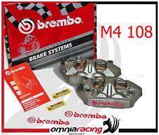 Brembo 220A39710 Coppia Pinze Freno Radiali M4 108 mm per Suzuki GSXR GSX-R