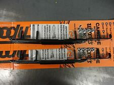 """Woody's Dooly Runner 6"""" Carbides DA6-9975 Artic Cat Bearcat Firecat Sno-Pro ZR"""