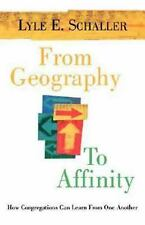 From Geography to Affinity : How Congregations Can Learn from One Another by...