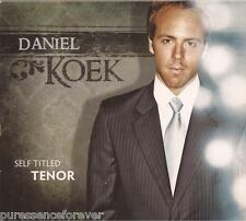 DANIEL KOEK - Self Titled Tenor (USA 13 Track CD Album)