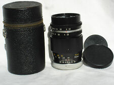 ZEITAR 135mm F 3.5 lens, PENTAX M42 screw mount, manual focus NO AUTO APERTURE