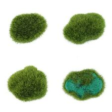 Simulation Moss Stones Grass Garden Plant Pot Fish Tank Decoration Ball IB