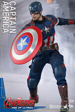 Hot Toys MMS 281 Captain America Age Of Ultron 1/6 Scale Figure NEW sealed