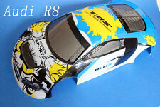 1/10 Painted RC Car Audi R8  Body Shell 190mm (C002)