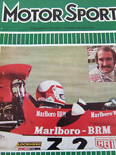 MOTORSPORT MAGAZINE MAR 1973 INTERLAGOS WANKEL ENGINE MAZDA FIRENZA ARGENTINA