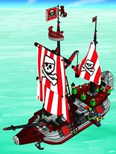 7075 LEGO 4 Juniors Captain Redbeard's Pirate Ship 100% complete