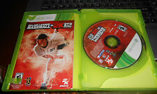 2K Sports Combo Pack: Major League Baseball 2K12/NBA 2K12  (Xbox 360, 2012)