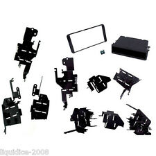CT23TY53 TOYOTA MATRIX 2003 to 2008 BLACK DOUBLE DIN FACIA ADAPTER FITTING KIT