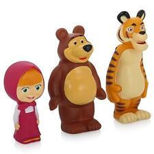 3pcs chirrían Masha y el tigre oso Juguetes para el baño, Masha de dibujos...