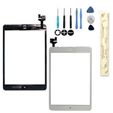 compatible with iPad Mini 1 & 2 Glass Digitizer Touch Screen IC Chip Flex white