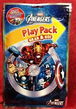 Marvel Avengers Play Pack Grab & Go! Coloring Book Crayons Stickers Travel