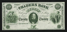 USA $20 TRADERS BANKNOTEIN UNC CONDITION-PLEASE READ DETAILS BELOW