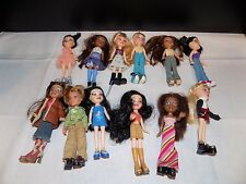 BRATZ mini dolls 5inch  loaded  dressed dolls  12  dolls