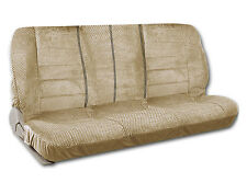 Bench Seat Cover Front Row Scottsdale Fabric in Beige for Trucks Vintage Cars