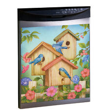 Magnetic Birdhouse Dishwasher Cover, by Collections Etc