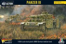 Warlord Games Bolt Action BNIB Panzer III WGB-WM-510