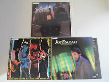 Joe English Lights In The World Press On Live Excellent Condition 3 LP Lot