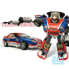 Transformers G1 Smokescreen Alloy Metal Hot Action Figure Toys Optimus Prime