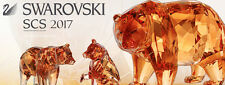 Swarovski 2017 SCS SET BEAR +  CUBS 5229215 5265593 and FREE SCS Bumblebee