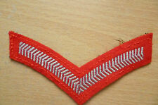 British Military No1 Dress Lance Corporal Chevrons Stripes Patch (New*)