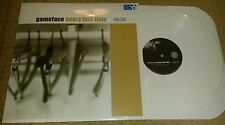 GAMEFACE - EVERY LAST TIME LP  WHITE WAX (SEALED) SXE NYHC FARSIDE 411 DAGNASTY
