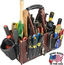 Occidental Leather 5588 Stronghold Master Carpenter Bag w/ 2 Oxy Tool Shiel