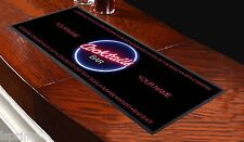 PERSONALISED COCKTAIL NAMES PINK TEXT BAR RUNNER IDEAL FOR HOME PARTY PUB BEER