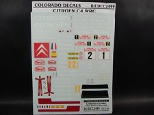 DECALS 1/24 CITROËN C4 WRC MONTE CARLO 2008   - COLORADO  2499